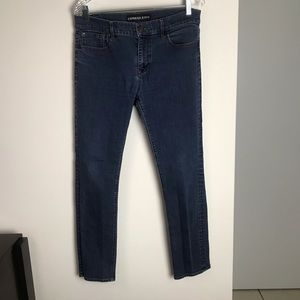 EXPRESS SKINNY MIA MID RISE JEANS